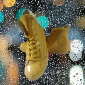 Converse All Star Hi Top Waterproof Boot Yellow